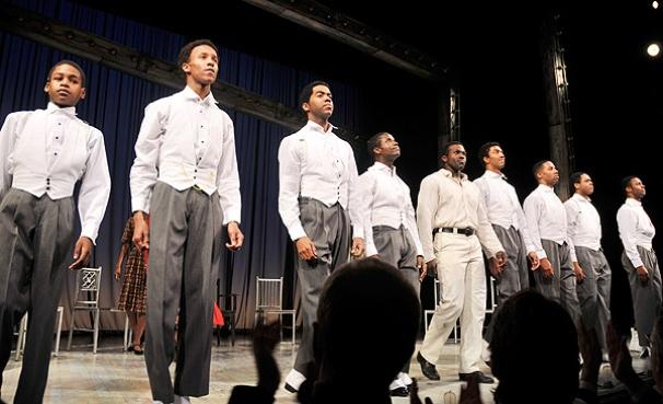 Scottsboro opening – cast