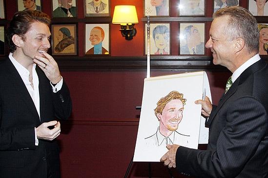 Jason Danieley Sardi's Caricature – Jason Danieley – Max Klimavicius