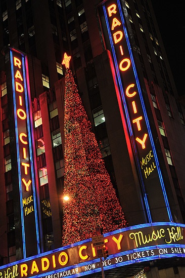 Radio City Christmas - marquee