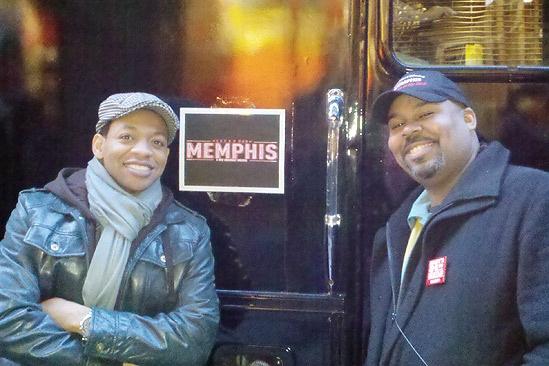 Memphis at Macy's Thanksgiving Day Parade – Derrick Baskin – James Monroe Iglehart