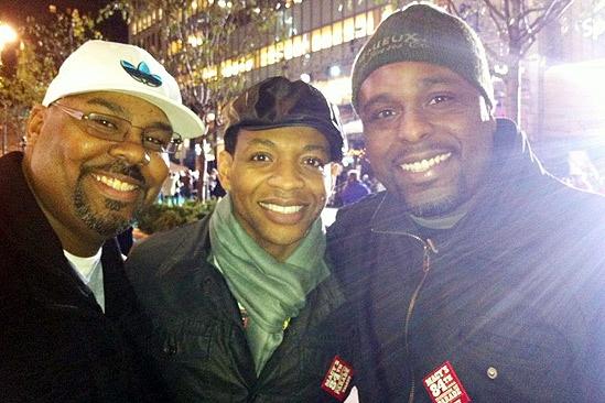 Memphis at Macy's Thanksgiving Day Parade – James Monroe Iglehart – Derrick Baskin – J. Bernard Calloway