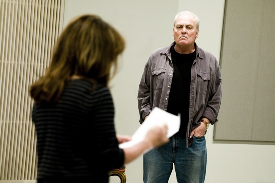 Other Desert Cities Rehearsal – Stockard Channing – Stacy Keach