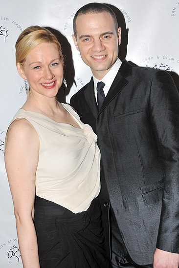 New York Stage and Film 2010 Gala – Laura Linney – Jordan Roth