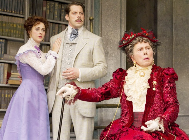 Show Photos - The Importance of Being Earnest - Sara Topham - David Furr - Brian Bedford