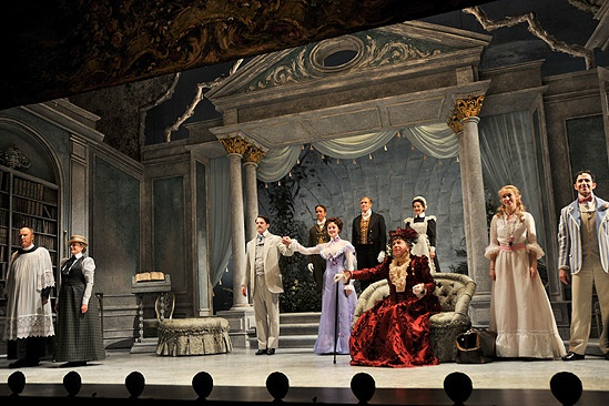 The Importance of Being Earnest Opening Night – Earnest cast