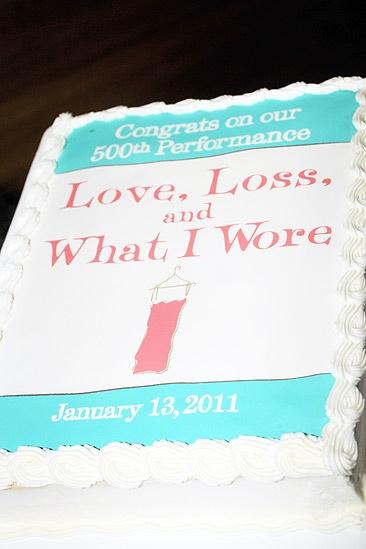 Love Loss January – cake