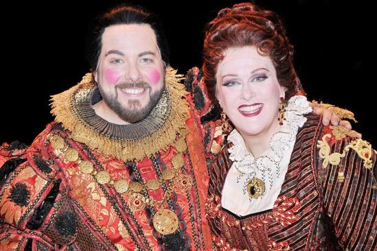 Phantom of the Opera 23rd Anniversary – Evan Harrington – Liz McCartney