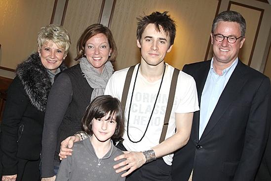 Spiderman Efron – Joe Scarborough- family – Reeve Carney