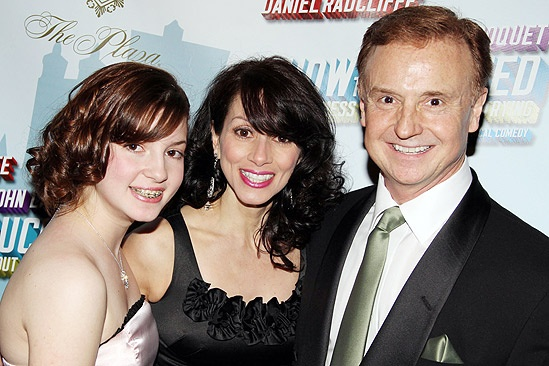 How to Succeed Opening Night – Cleve Asbury – Donna Marie Asbury – daughter Jackie