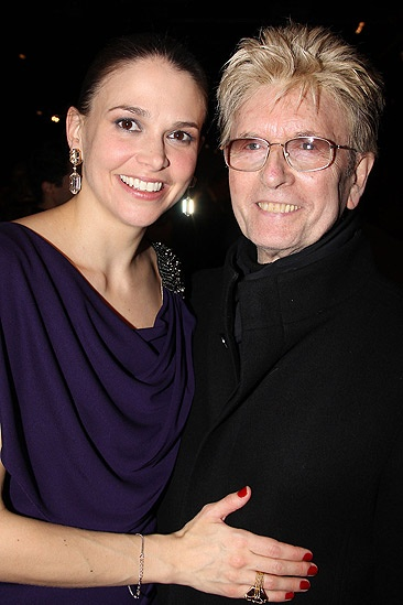 Anything Goes Opening Night – Sutton Foster – Paul Huntley