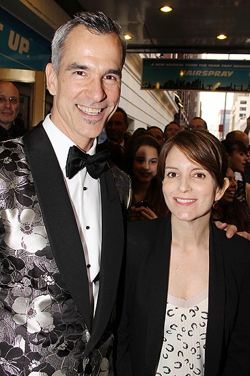 Catch Me If You Can Opening Night – Jerry Mitchell – Tina Fey