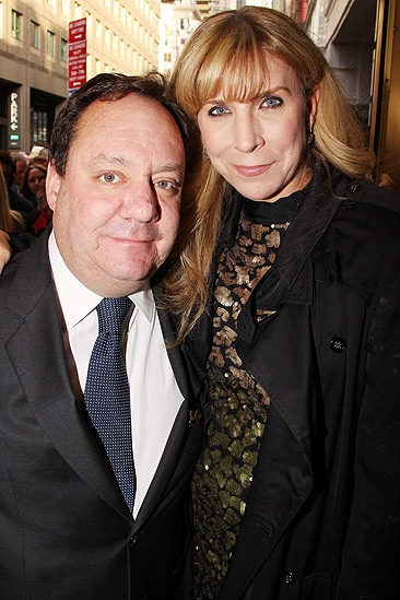 Catch Me If You Can Opening Night – James Nederlander – wife Margo McNabb