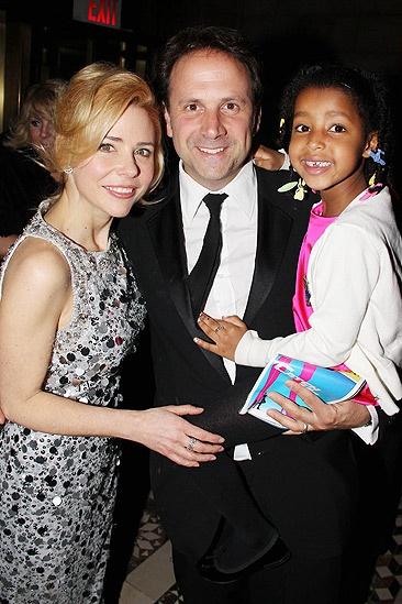Catch Me If You Can Opening Night – Kerry Butler – husband Joey Mazzarino – daughter Segi