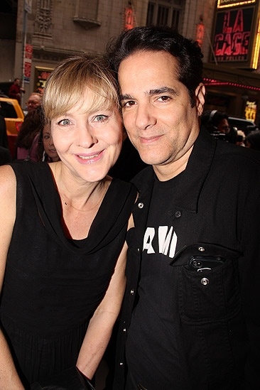 House of Blue Leaves Opening Night – Yul Vazquez – Linda Larkin