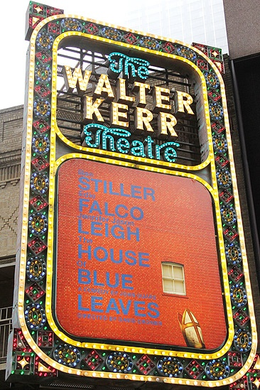 House of Blue Leaves Opening Night – marquee