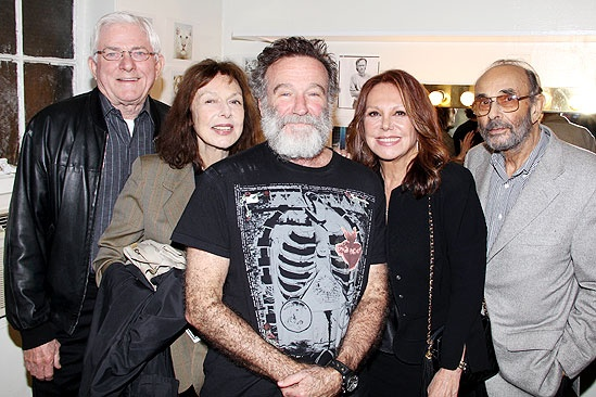 Tony Bennett – Phil Donahue- Elaine May – Robin Williams – Marlo Thomas – Stanley Donen