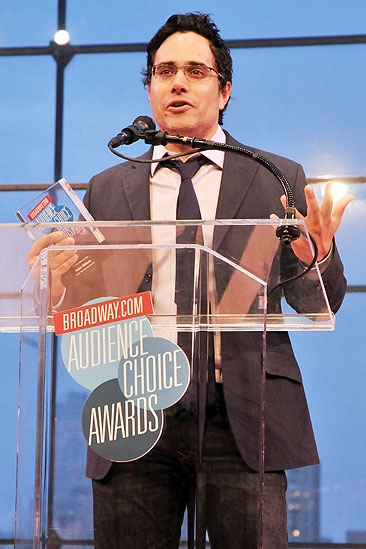 2011 Audience Choice Awards Ceremony – Rajiv Joseph
