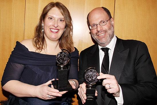 2011 Tony Awards Winners Circle – Anne Garefino – Scott Rudin