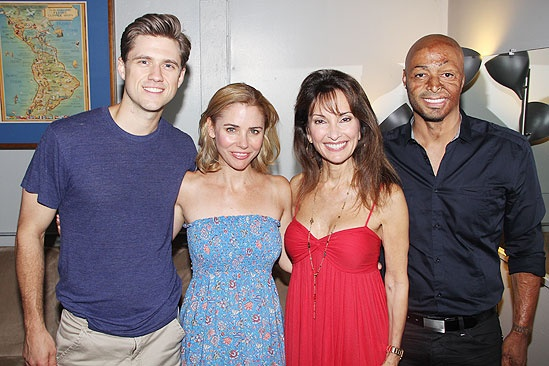 Catch Me If You Can 100th Performance – Aaron Tveit – Kerry Butler – Susan Lucci – J.R. Martinez