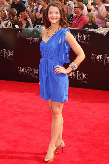 Harry Potter NYC Premiere – Rose Hemingway