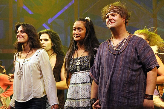 Hair Opening Night 2011 – Caren Lyn Tackett – Kaitlin Kiyan – Josh Lamon