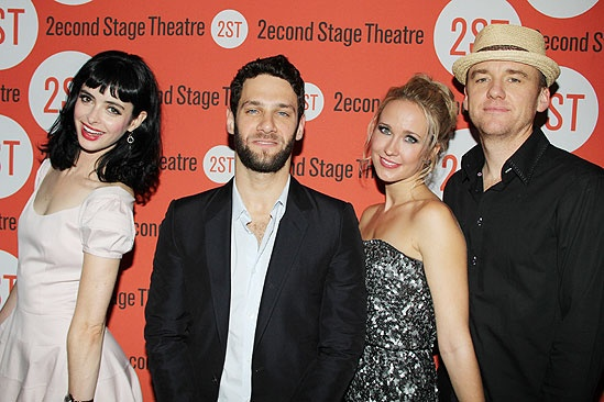 <i>All New People</i> Opening Night – Krysten Ritter – Justin Bartha – Anna Camp – David Wilson Barnes