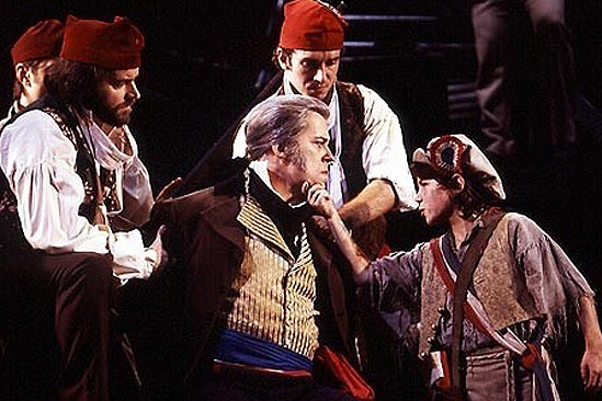 Nick Jonas On Stage – Les Miz with Javert