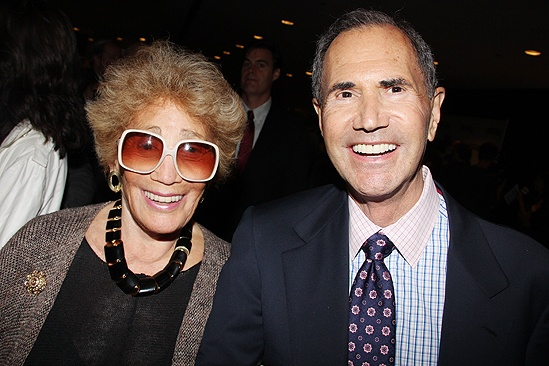 <i>Follies</i> opening night – Myrna and Freddie Gershon
