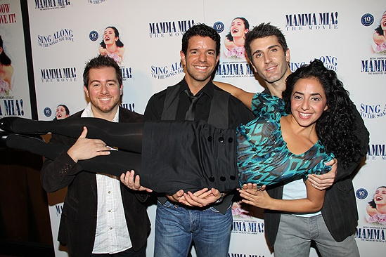 Mamma Mia Sing-Along Screening – Jon-Erik Goldberg – Tony Gonzalez – Ryan Sander – Sharone Sayegh