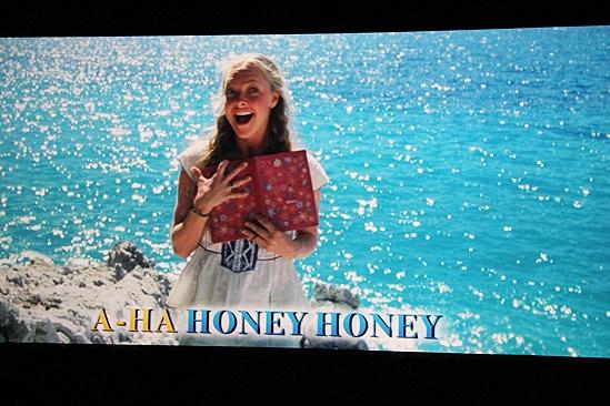 Mamma Mia Sing-Along Screening – Amanda clip