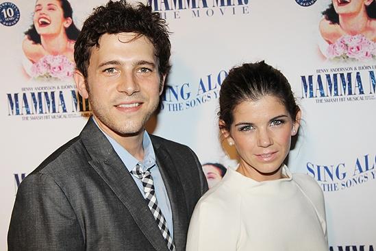 Mamma Mia Sing-Along Screening – Jacob Pinion – girlfriend Cassie Walton