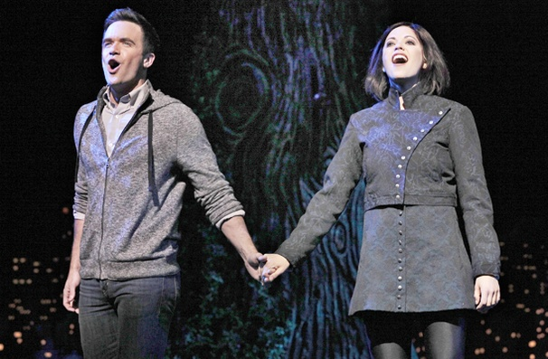 Show Photos - The Addams Family - Brian Justin Crum - Cortney Wolfson