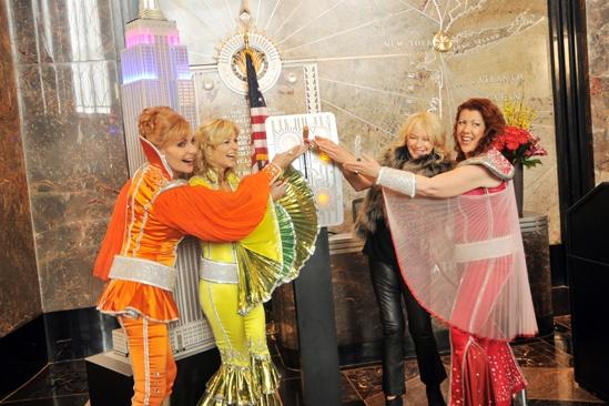 Mamma Mia Empire State Building – Judy Craymer – Lisa Brescia – Jennifer Perry – Judy McLane (switch 1)