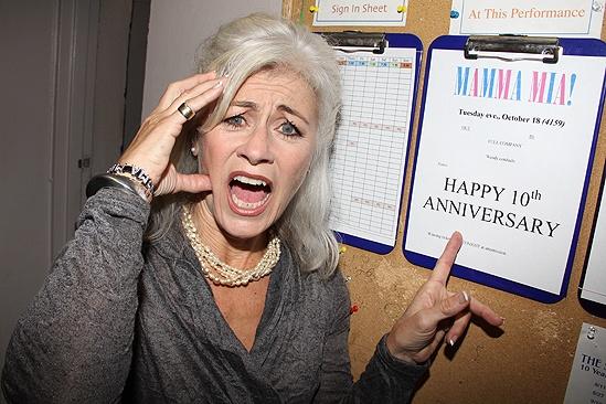 Mamma Mia Tenth Anniversary – Louise Pitre
