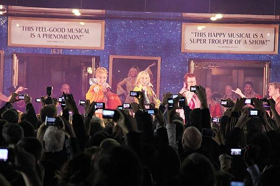Mamma Mia Tenth Anniversary – outdoor performance