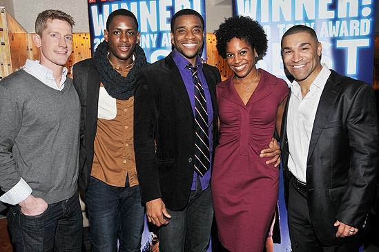 Memphis Second Broadway Anniversary – Jamison Scott – Darius Barnes – Antoine L. Smith – Dan'yelle Williamson – Sam J. Cahn