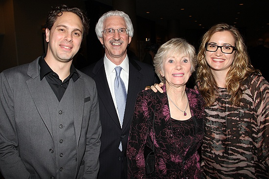 Other Desert Cities Broadway Opening Night – Thomas Sadoski – parents – wife Kim Hope