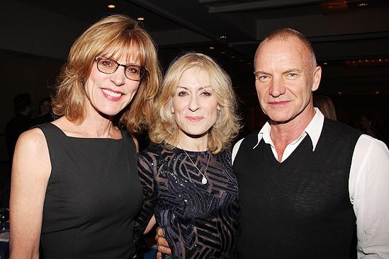Other Desert Cities Broadway Opening Night – Christine Lahti – Judith Light – Sting