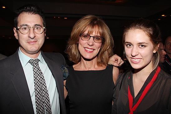 Other Desert Cities Broadway Opening Night – Jon Robin Baitz – Christine Lahti – daughter