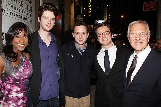 Venus in Fur Broadway Opening Night – Rutina Wesley – Will Rogers – Eddie Kaye Thomas – Jonathan Groff – Walter Bobbie
