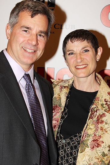 Chicago 15th Broadway Anniversary – Mindy Cooper – husband