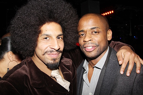 <i>Stick Fly</i> Opening Night – Jason Samuels – Dulé Hill