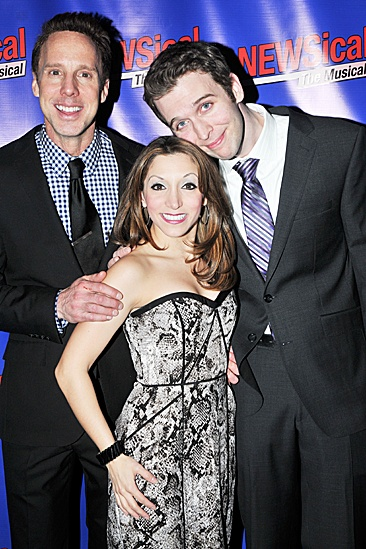 Newsical - Michael West, Christina Bianco and John Walton West