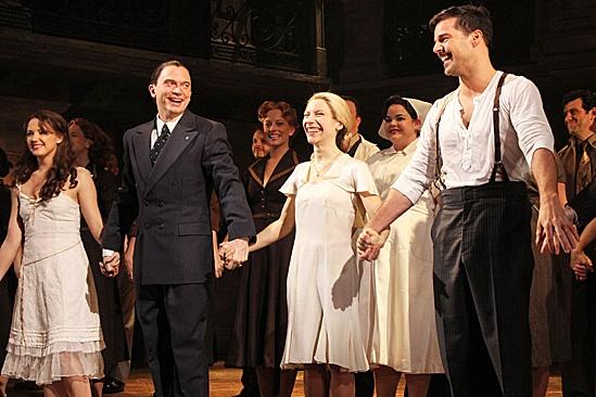 Evita- Elena Roger, Rachel Potter, Ricky Martin and Michael Cerveris