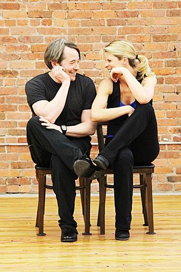 Nice Work If You Can Get It – Rehearsal – Matthew Broderick – Kelli O'Hara