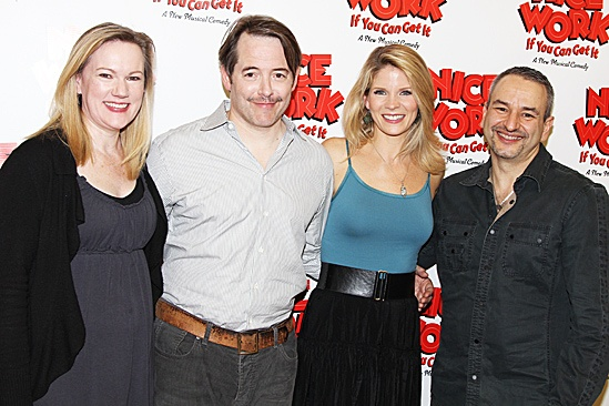 Nice Work If You Can Get It – Rehearsal – Kathleen Marshall – Matthew Broderick – Kelli O'Hara – Joe DiPietro