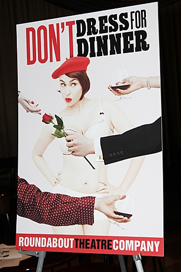 Don't Dress For Dinner – Meet and Greet – poster