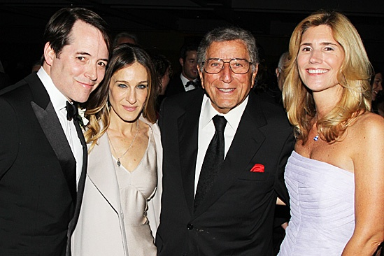 Nice Work If You Can Get It – Opening Night – Matthew Broderick – Sarah Jessica Parker – Tony Bennett – Susan Crow