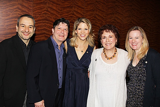 2012 Tony Brunch – Joe DiPietro – Michael McGrath – Kelli O'Hara – Judy Kaye – Kathleen Marshall