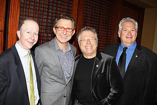 2012 Tony Brunch – Jack Feldman – Thomas Schumacher – Alan Menken – Harvey Fierstein